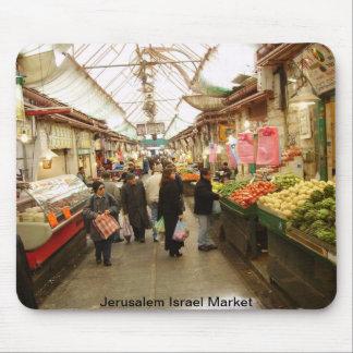 Mercado de Jerusalén Israel Alfombrillas De Ratones