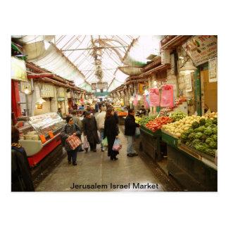Mercado de Jerusalén Israel Postales