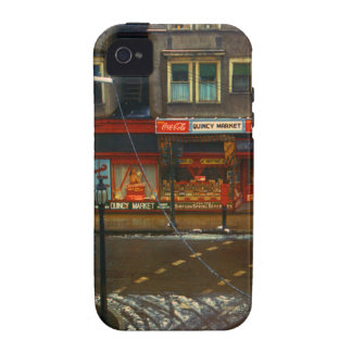 Mercado de la esquina de calle Case-Mate iPhone 4 fundas