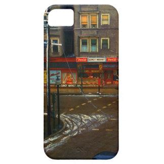 Mercado de la esquina de calle iPhone 5 Case-Mate cárcasa