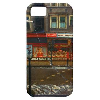 Mercado de la esquina de calle iPhone 5 carcasa