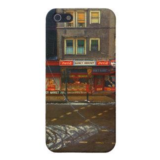 Mercado de la esquina de calle iPhone 5 cárcasas