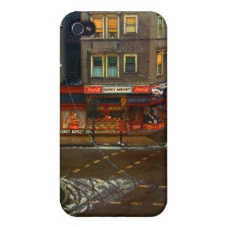 Mercado de la esquina de calle iPhone 4/4S fundas