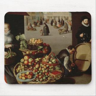 Mercado de la fruta alfombrilla de ratón