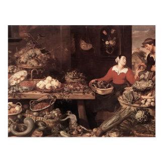 Mercado de la fruta y verdura de Francisco Snyders Postales