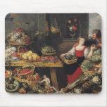Mercado de la fruta y verdura tapetes de raton
