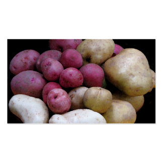 Mercado de la patata tarjetas de visita