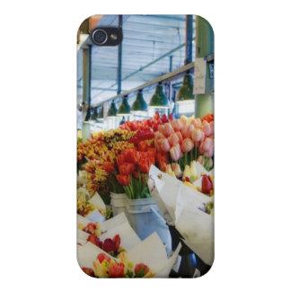 Mercado de la Ramo-Calle iPhone 4/4S Fundas