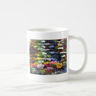 Mercado de las flores taza de café