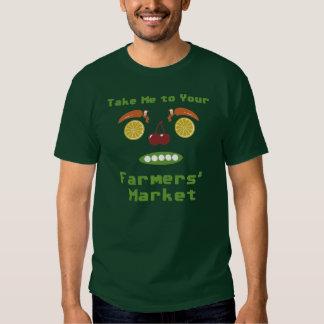Mercado de los granjeros camisas