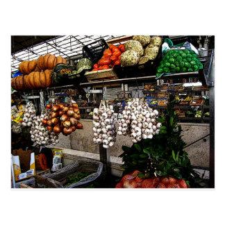 Mercado de los granjeros de Portugal Tarjetas Postales