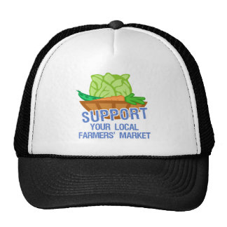 Mercado de los granjeros gorro