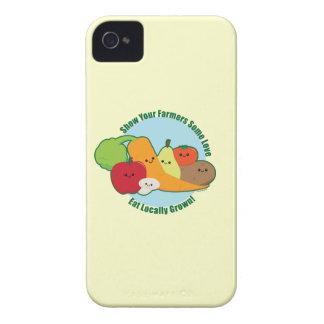 Mercado de los granjeros iPhone 4 carcasa