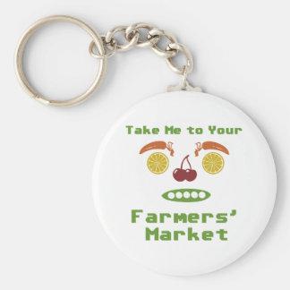 Mercado de los granjeros llaveros