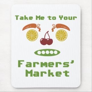 Mercado de los granjeros mousepads