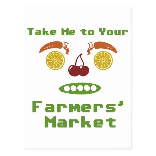 Mercado de los granjeros postales