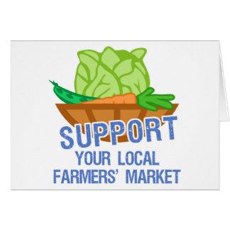 Mercado de los granjeros felicitacion