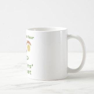 Mercado de los granjeros taza de café