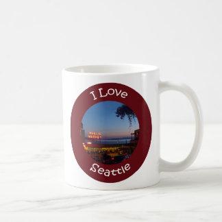 Mercado de lugar de lucios tazas de café