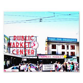 Mercado de lugar de Pike Fotografías