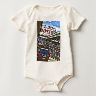 Mercado de lugar de Pike Mameluco De Bebé