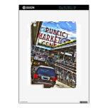 Mercado de lugar de Pike Skins Para iPad 2
