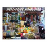 Mercado de Miraflores Tarjeta Postal