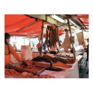 Mercado de pescados de Noruega, Bergen Postales