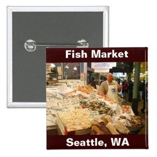 Mercado de pescados Seattle WA Pin
