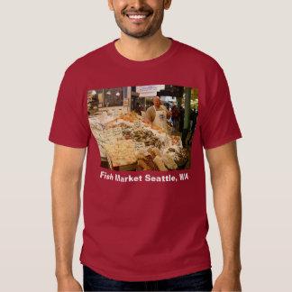 Mercado de pescados Seattle WA Playeras