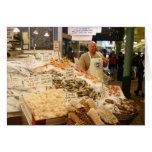 Mercado de pescados Seattle WA Tarjeta De Felicitación