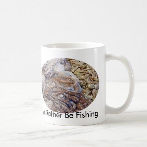 Mercado de pescados taza clásica