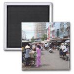 Mercado de Vietnam Imán