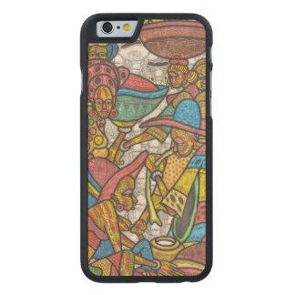 Mercado del Calabash Funda De iPhone 6 Carved® De Arce