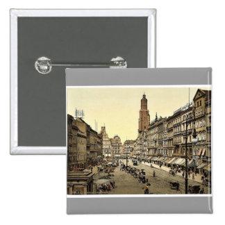 Mercado, del este, Breslau, Silesia, Ger Pin