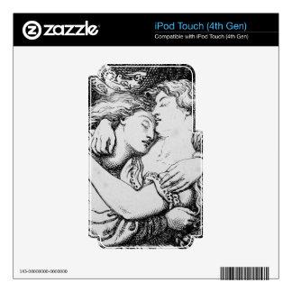 Mercado del Goblin [Christina Rossetti] iPod Touch 4G Calcomanías