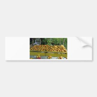 mercado del mango pegatina para auto