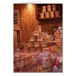 Mercado del navidad tarjetón