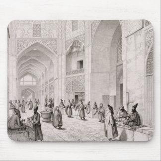 Mercado del paño, en Isfahán, del 'viaje Pittoresq Alfombrillas De Ratón
