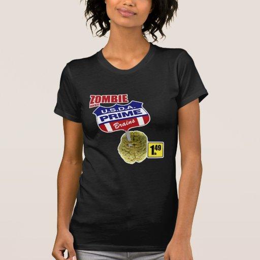 Mercado del zombi camisetas