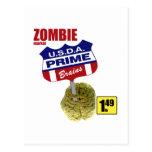 Mercado del zombi tarjeta postal
