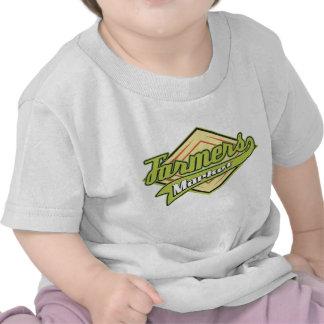 Mercado deportivo de los granjeros camiseta