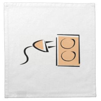 Mercado eléctrico del enchufe servilleta de papel