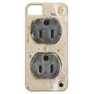 Mercado eléctrico del vintage funda para iPhone SE/5/5s