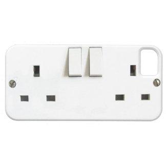 Mercado eléctrico divertido de Reino Unido en el c iPhone 5 Carcasa