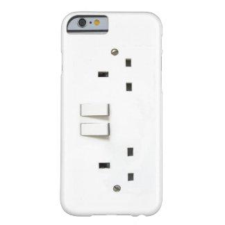 Mercado eléctrico divertido de Reino Unido en el Funda Para iPhone 6 Barely There