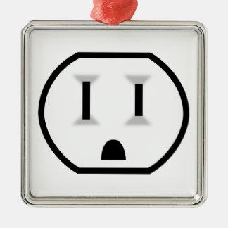 Mercado eléctrico divertido adorno de reyes