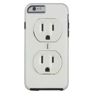 Mercado eléctrico divertido funda para iPhone 6 tough