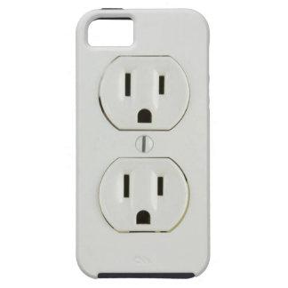 Mercado eléctrico divertido funda para iPhone SE/5/5s