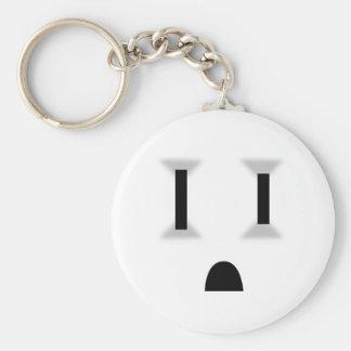 Mercado eléctrico divertido llavero personalizado